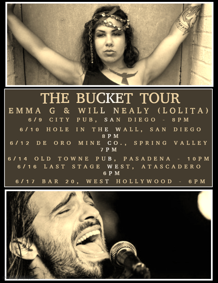 THE BUCKET TOUR